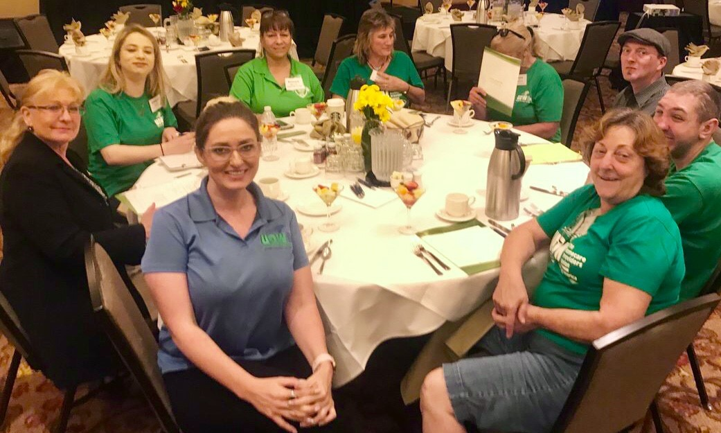 UDW homecare workers joined Advocacy Day to speak up for long-term services and supports